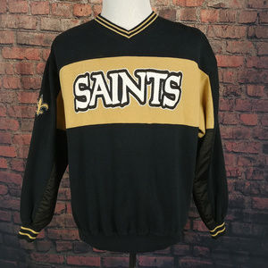 Other - VINTAGE New Orleans Saints Pullover Sweater Mens L